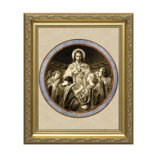 Bread of Angels w/ Gold Frame