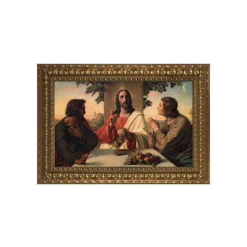 The Breaking of the Bread w/ Gold Frame