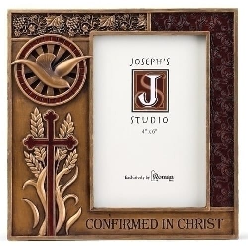 Bronze Finish Confirmation Photo Frame The Catholic Company