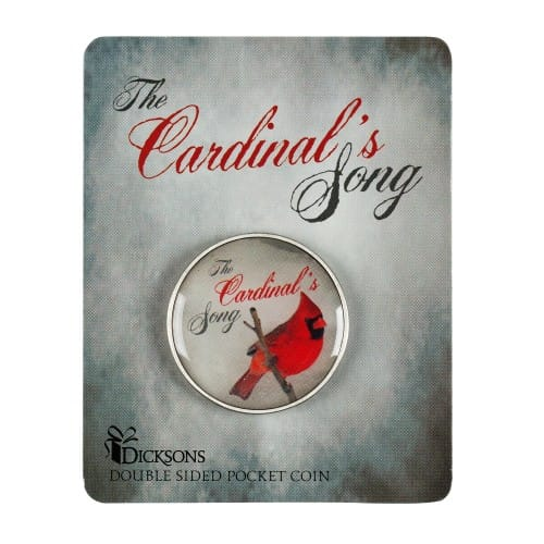 Cardinal's Song Pocket Coin