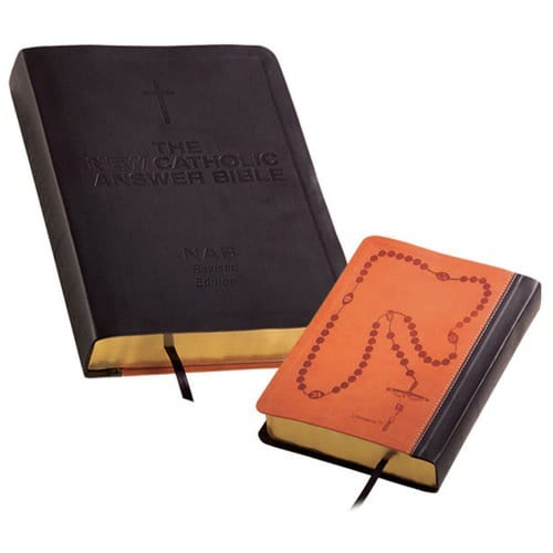 The Catholic Answers NABRE Bible (Black) Large Print