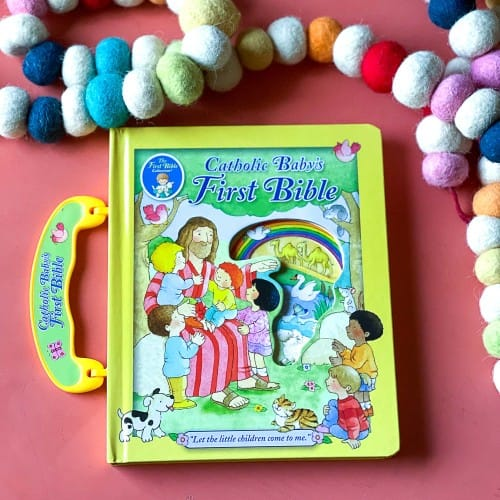 Catholic Baby's First Handle Bible