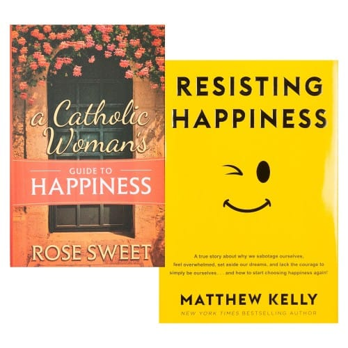 A Catholic Woman's Guide to Happiness & Resisting Happiness (2 Book Set)