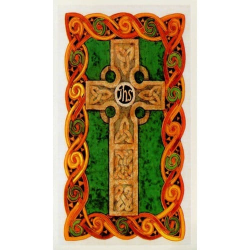 Celtic Cross Personalized Prayer Card (Priced Per Card)