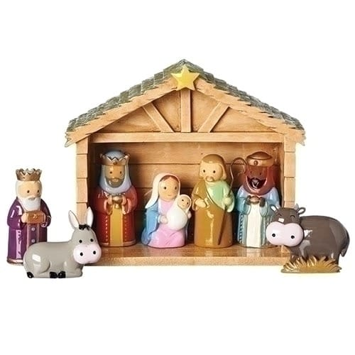 new product b9e75 5f34b Children's Nativity Scene 8-Piece Set