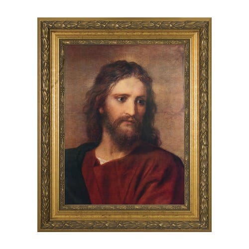 Christ at 33 w/ Gold Frame