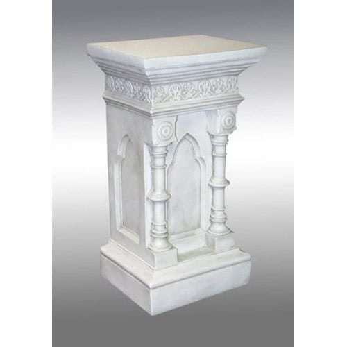 Parish Mini Pedestal Lantern: Church Pedestal 42""