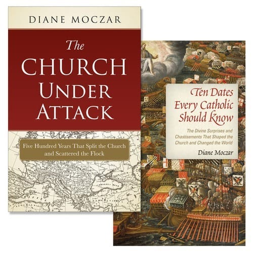 The Church Under Attack & Ten Dates Every Catholic Should Know (2 Book Set)