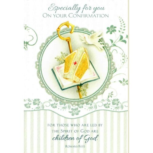 Confirmation Greeting Card - Boy