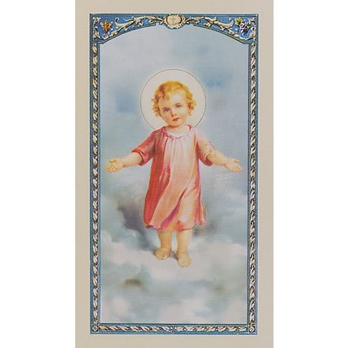 Daily Offering to the Infant Jesus - Prayer Card