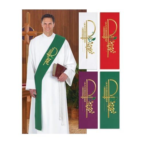 Deacon Stole - Green | The Catholic - 50.9KB