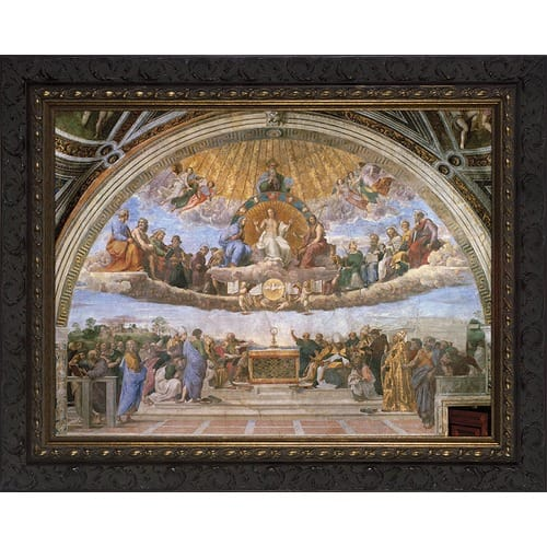Disputation of the Eucharist (Raphael) 16x20 <!rphl>