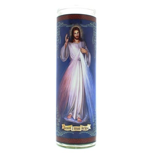 Divine Mercy Flameless Candle
