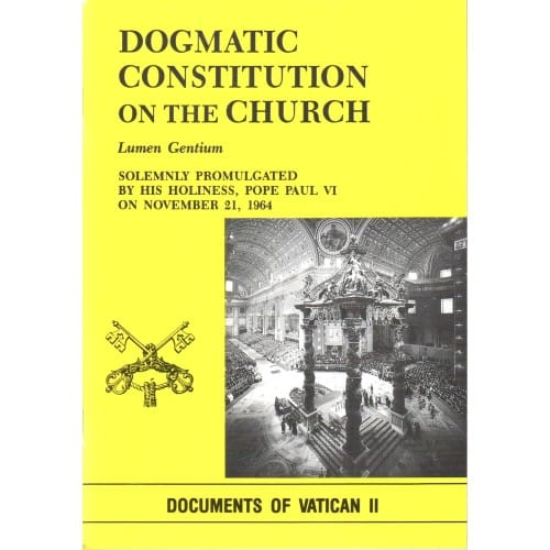 Dogmatic Constitution on the Church (Lumen Gentium)<!vat2>
