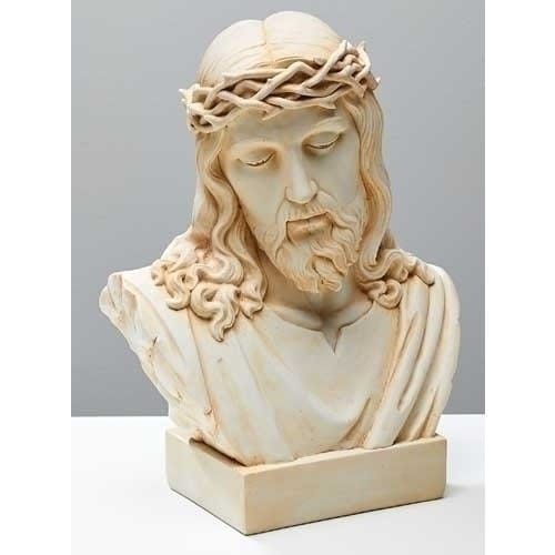 Ecce Homo Jesus Alabaster Bust The Catholic Company
