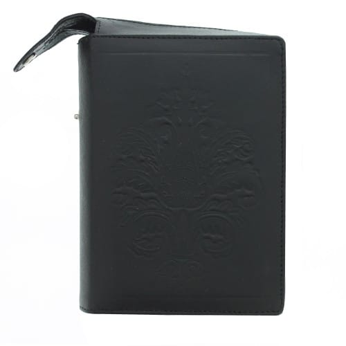 Embossed Leather Prayer Book Cover