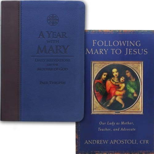 Following Mary to Jesus & A Year with Mary (2 Book Set)