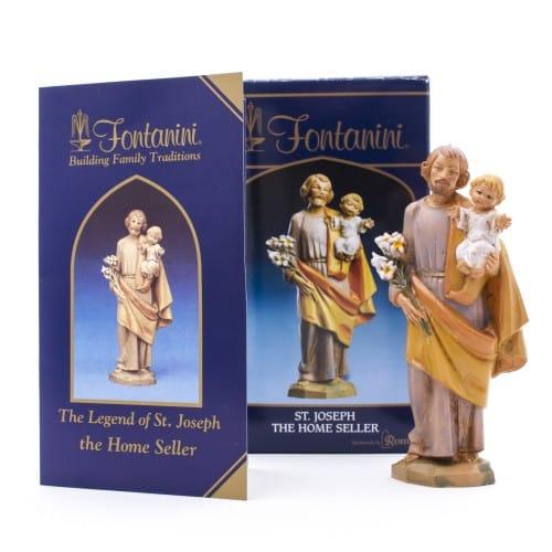 Fontanini St Joseph Home Sale Kit The Catholic Company