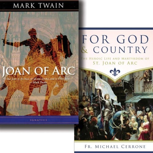 For God & Country & Joan of Arc (2 Book Set)