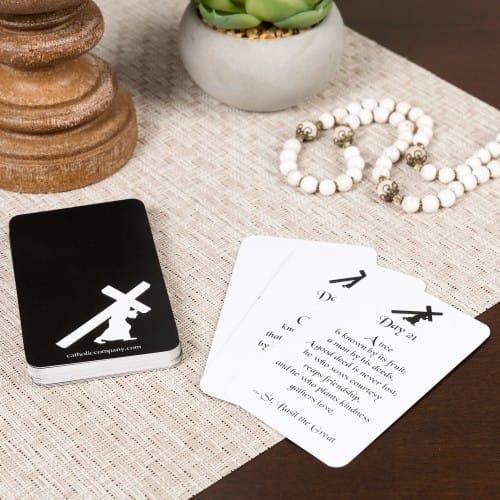 40 days lenten prayer card pack the catholic company 40 days lenten prayer card pack colourmoves