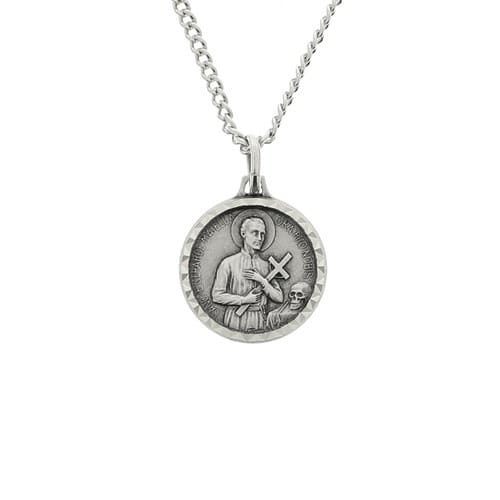 French st gerard medal with chain the catholic company french st gerard medal with chain aloadofball Image collections