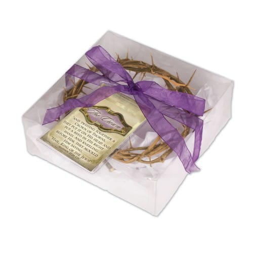 Gift Boxed Crown of Thorns 6