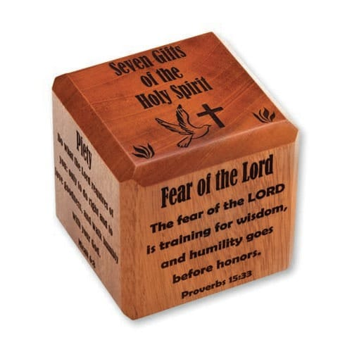 Gifts of the holy spirit scripture cube the catholic company gifts of the holy spirit scripture cube negle Images