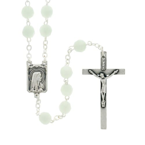 Glow in the Dark Bead Rosary