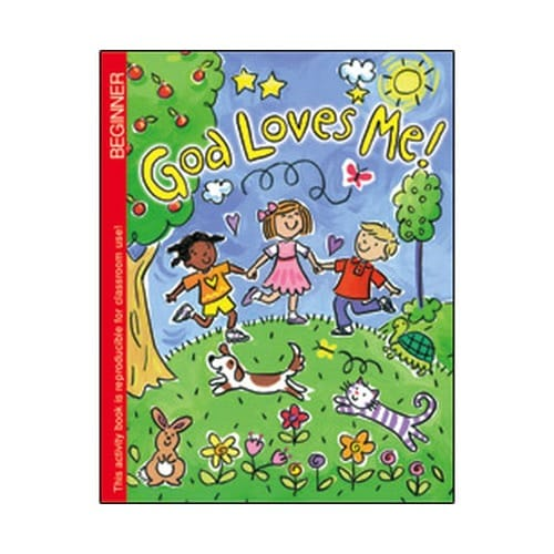 God Loves Me Coloring Book (Pre K)