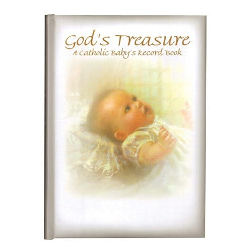 God's Treasure - A Catholic Baby's Record Book
