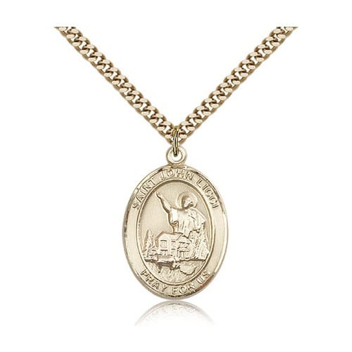 14kt Gold Filled St. John Licci Pendant w/ chain