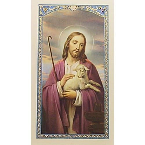 Good Shepherd - Friendship - Prayer Card