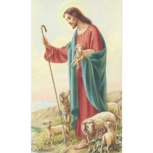 Good Shepherd Prayer Cards I19586 on Good Church Business Cards