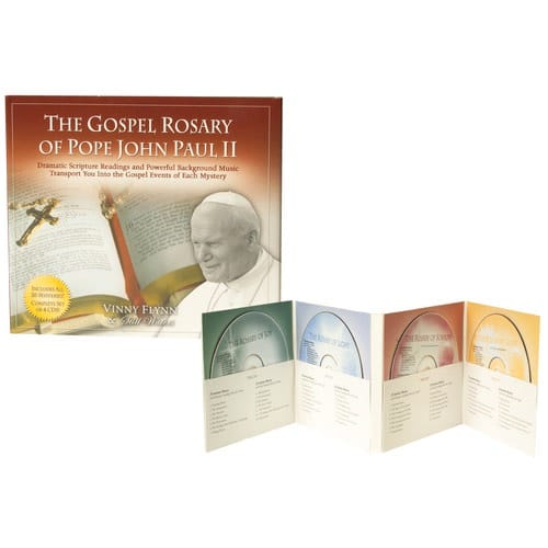 The Gospel Rosary of Pope John Paul II (CDs)