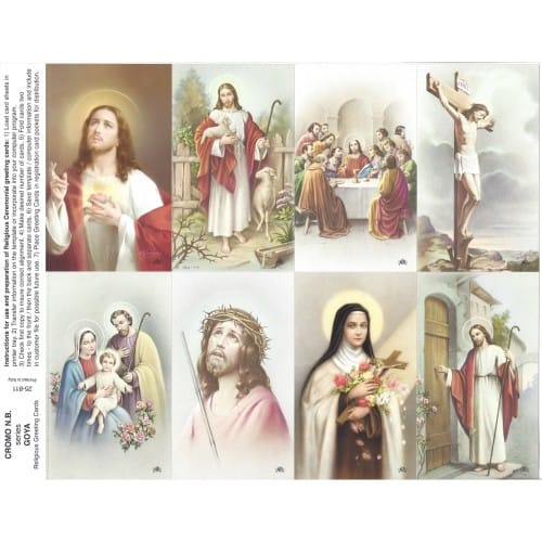 Goya Series Assorted Subjects Prayer Cards
