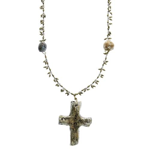 Greek cross necklace the catholic company greek cross necklace mozeypictures Choice Image