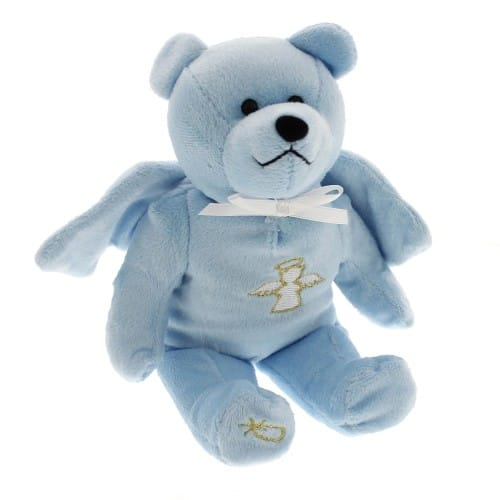 Blue Guardian Angel Bear