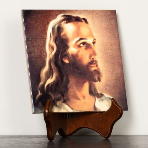 Head of Christ Ceramic Tile