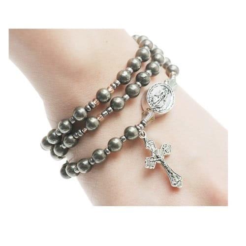 Hemae Rosary Wrap Bracelet