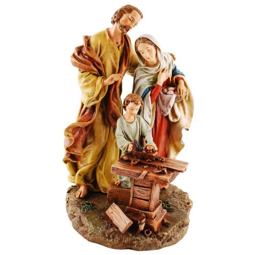 Holy Family in Carpenter Shop