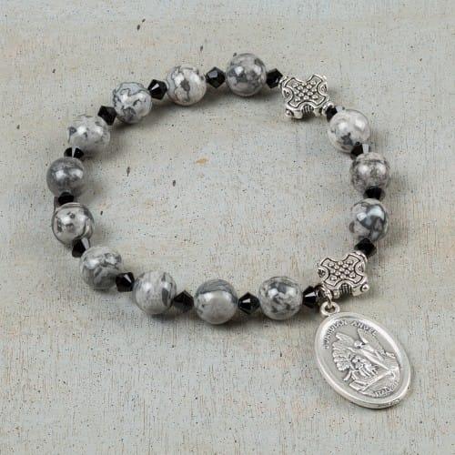 Holy Souls Rosary Bracelet