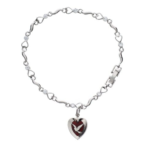 Holy Spirit Heart Bracelet