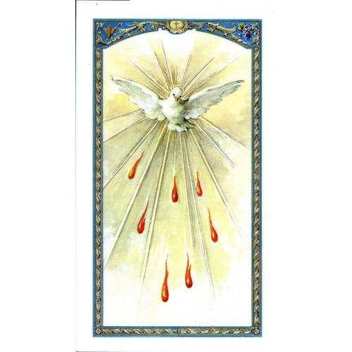 Holy Spirit Laminated Prayer Card