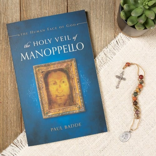 The Holy Veil of Manoppello & Ecce Homo Sacrifice Rosary (Gift Set)