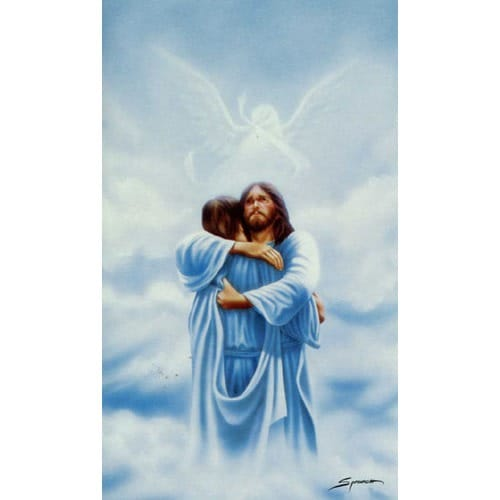 Homecoming Personalized Prayer Card (Priced Per Card) | The Catholic ...