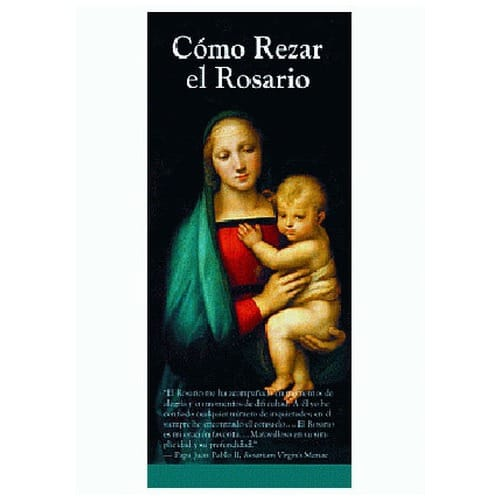 How to Pray the Rosary Spanish Pamphlet (50 Pack)
