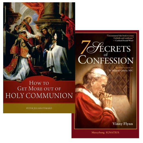 How to Get More Out of Holy Communion & 7 Secrets of Confession (2 Book Set)