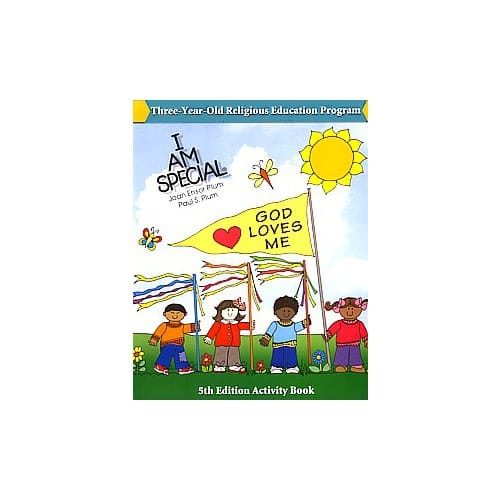 I Am Special Preschool 1 - Activity Book (3-year-olds)
