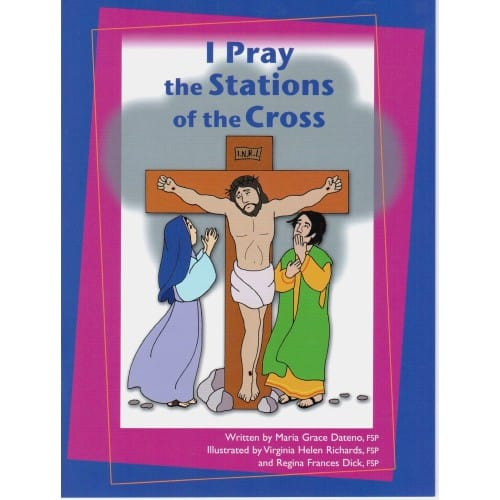 image relating to Stations of the Cross Prayers Printable identify I Pray the Stations of the Cross