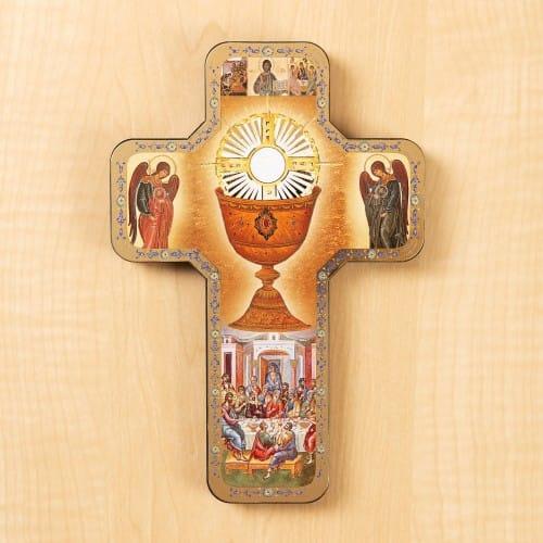 Holy Eucharist Icon Cr...